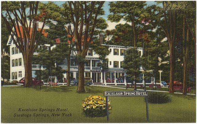 Excelsior springs hotel saratoga springs new york for New hotels in saratoga springs ny