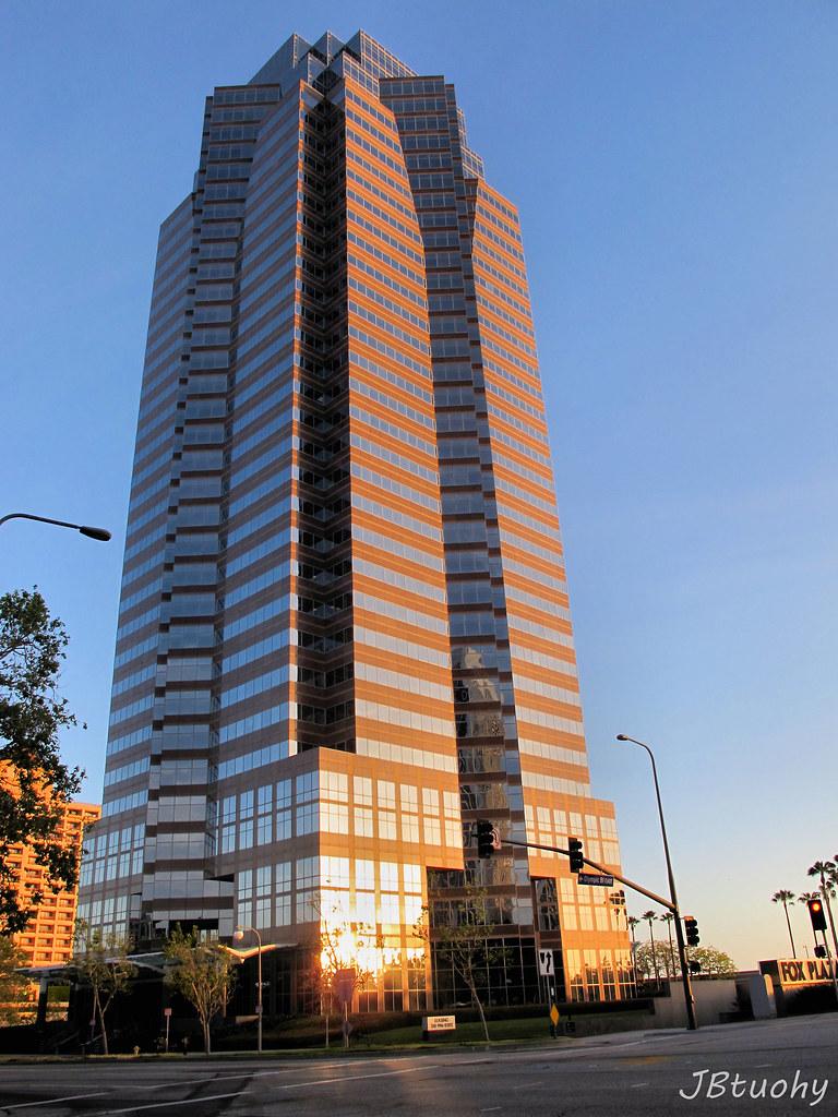 Fox Plaza Skyscraper In The Century City Area Of Los