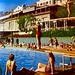 the hotel pool in the Fifties