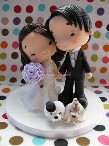 Mini Clay Wedding Cake
