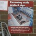 Iowa State Fair - Paul R Knapp Animal Learning Center - Gestation Crates Promotion Poster