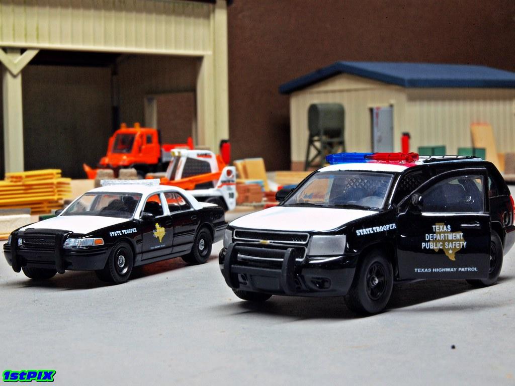 Texas Highway Patrol Chevrolet Tahoe Texas Highway