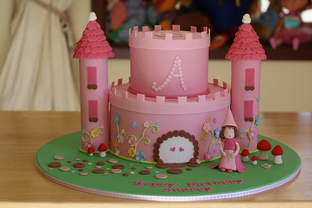 Princess Castle Cake My Daughter Audrey Turns 6 Tomorrow