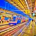 Skyrail Train Station at Downtown Bangkok Thailand
