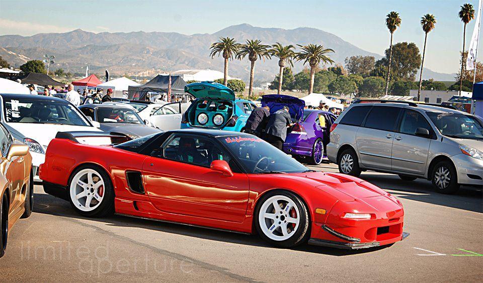 Michael Mao Nsx Red Nsx Volk Racing Te37 Nsx R Taitec