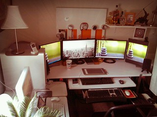 mac/pc workstation | by abe5x