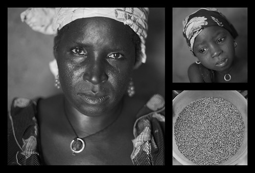Niger: Portraits of mother, child and food | by CARE Australia