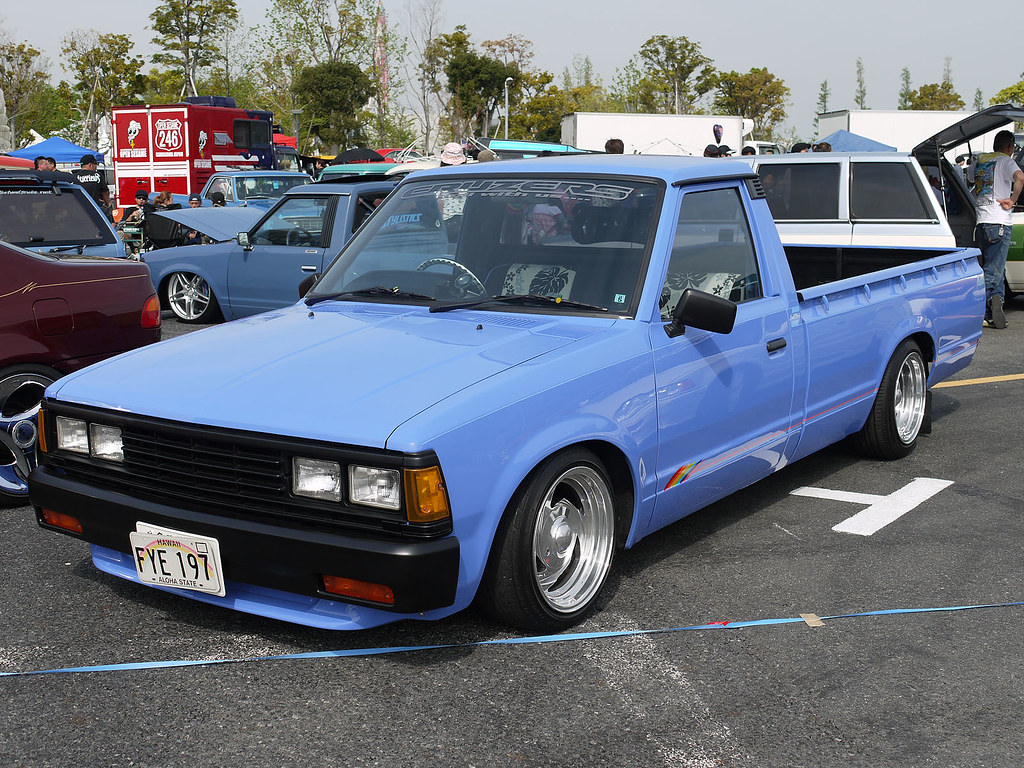 Nissan Datsun 720 Truck Long Bed Model Kei Station
