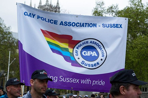 Sussex Gay Police Association  - Police march in protest, London, 10 May 2012 | by chrisjohnbeckett
