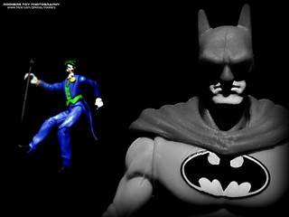 The Batman and the Joker | by Rooners Toy Photography