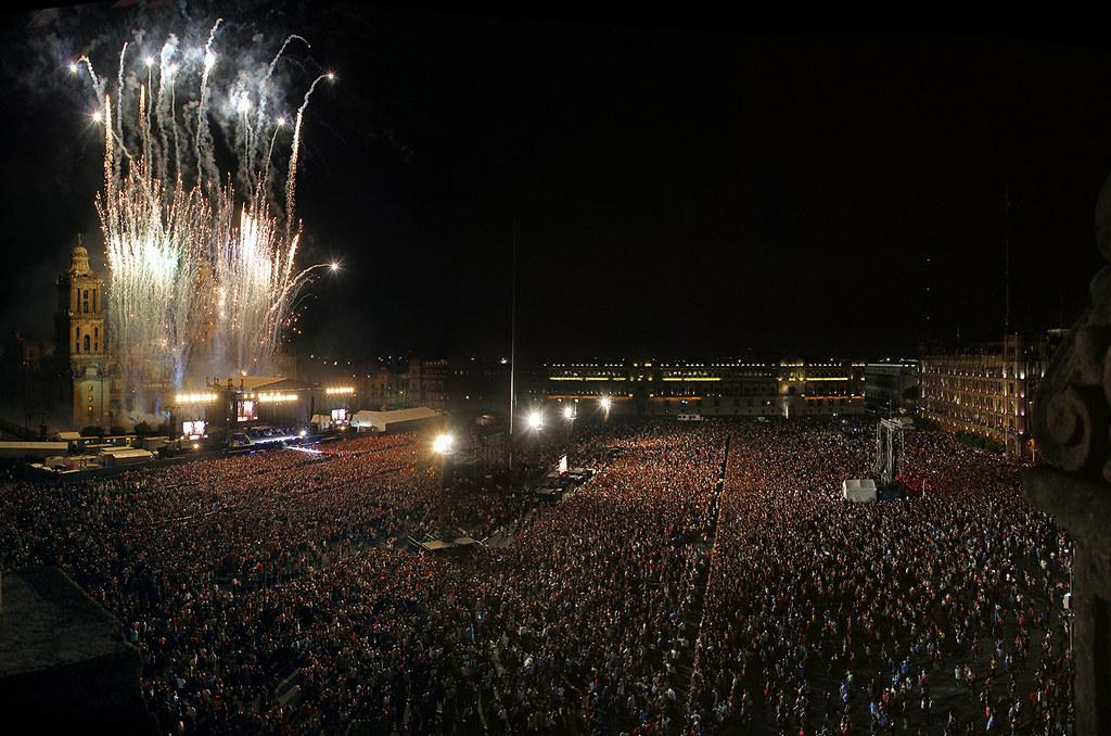 Justin Bieber concert in Mexico City   Panorámica del ...