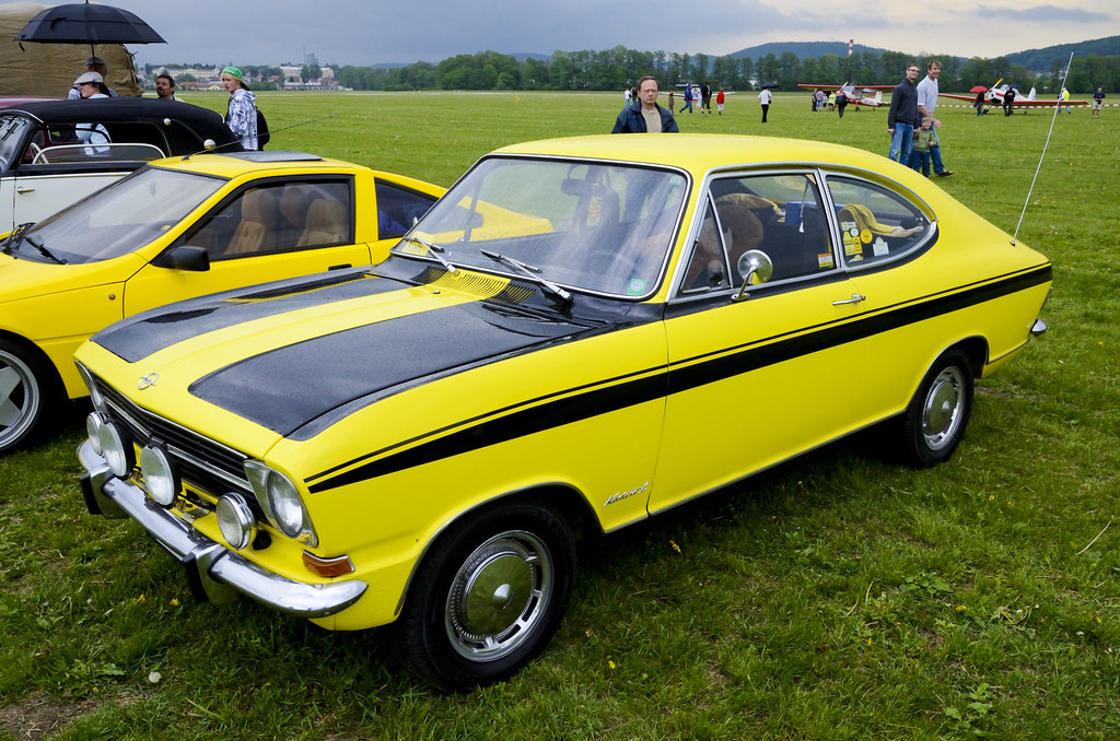 opel kadett ls rallye coupe with improved sport engine. Black Bedroom Furniture Sets. Home Design Ideas