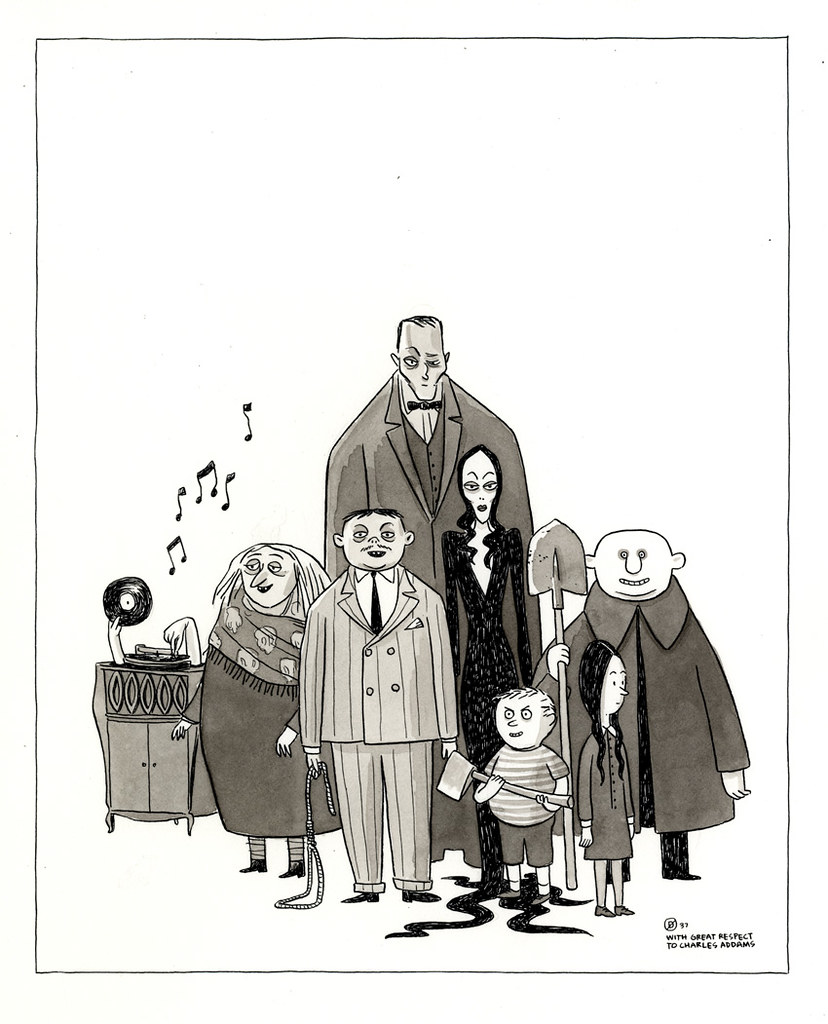 The Addams Family A Commission For A Friend For His