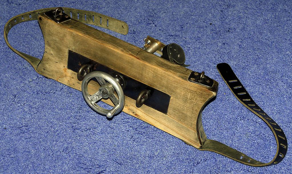 leather bondage ball stretcher