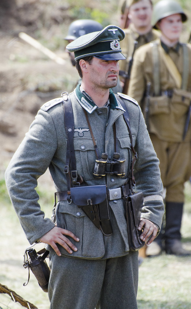 rostov 1942 wehrmacht officer thomas t flickr