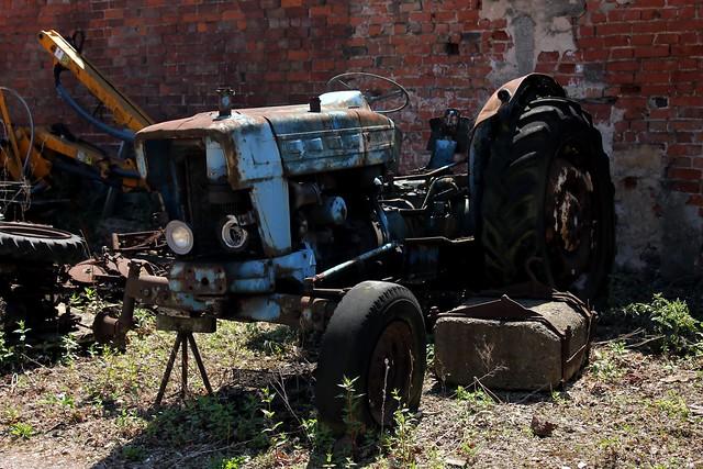Tractor Broke Down : Broken down old tractor explore machernucha s photos on