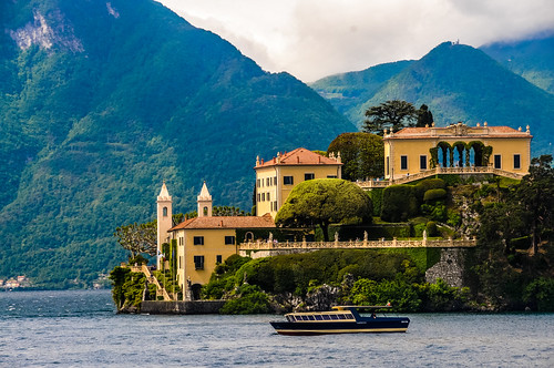 Villa del Balbianello on Lake Como Italy | by mbell1975