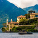 Villa del Balbianello on Lake Como Italy