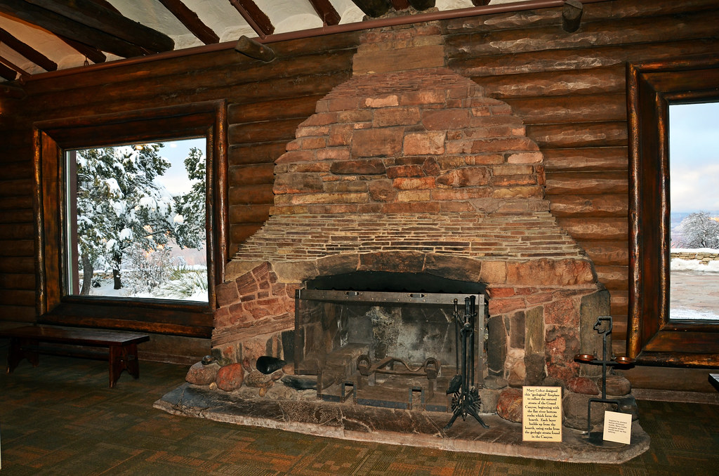 Grand Canyon National Park Geologic Fireplace 2788 Flickr