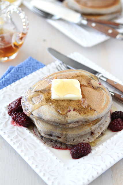 Whole Wheat Pancake Recipe with Ginger & Berries | www.cooki ...
