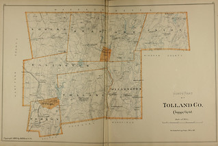 Page 256 & 257 of Town and city atlas of the State of Connecticut. / Compiled from government surveys, county records and personal investigations | by uconnlibrariesmagic