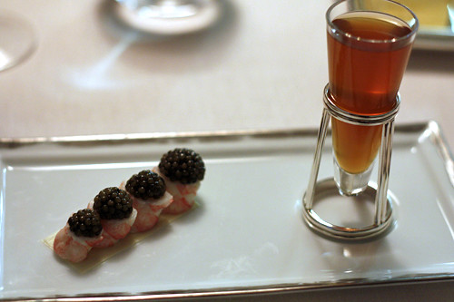 langoustines and caviar | by David Lebovitz