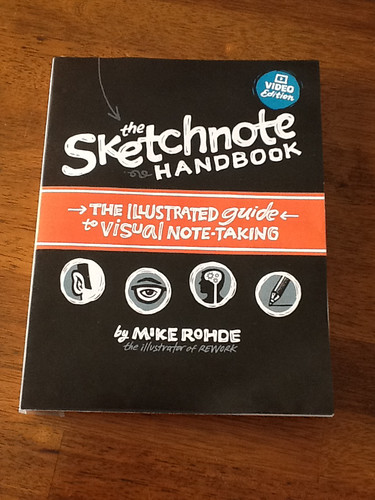 The Sketchnote Handbook Cover: Mockup | by Mike Rohde