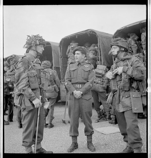Personnel Of The 1st Canadian Parachute Battalion About T