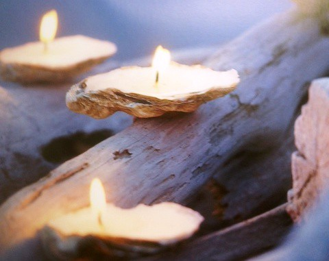 Seashell Candle Craft for Teens | by SJCPLS