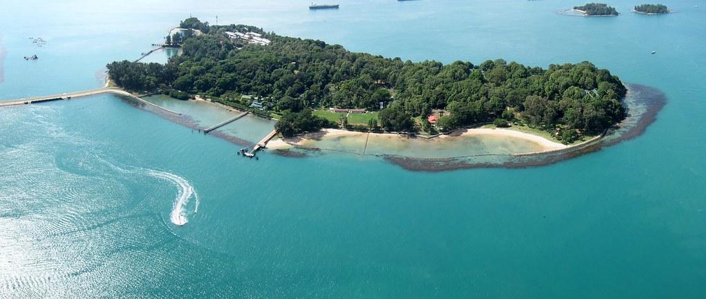 Kite Over St John Island Singapore Kite Aerial Photograp Flickr
