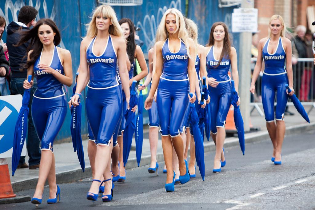 Bavaria Girls | Bavaria City Racing Dublin 2012 | Stephen ...