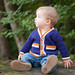 Tipped Baby Cardigan