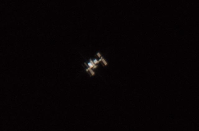 International space station passing over florida flickr for Space station florida