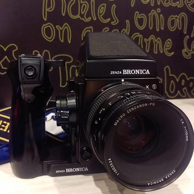 Bronica PG 110mm f4 Macro 碧浪之家67之最高解像