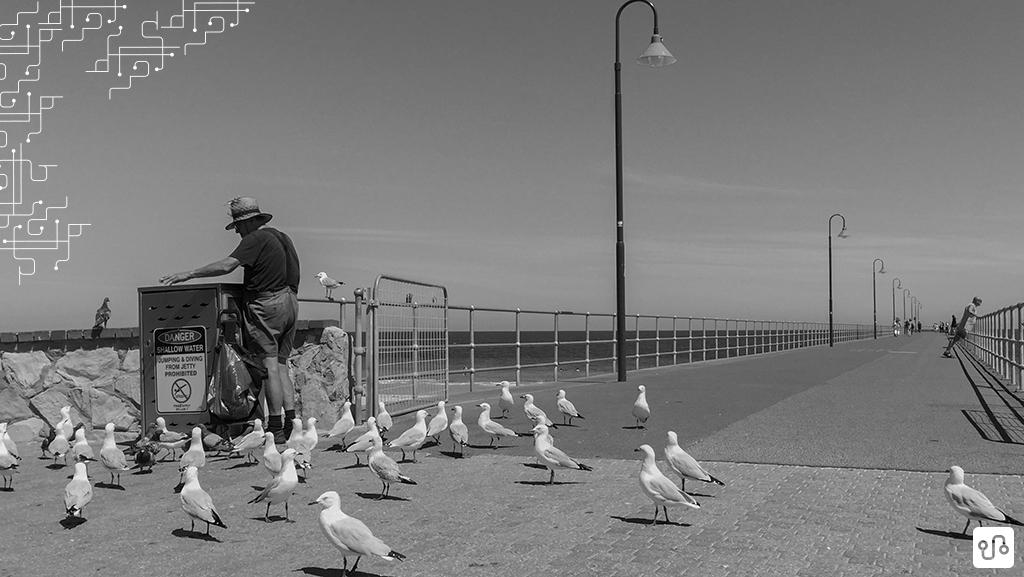 Foto em Glenelg, a praia mais famosa de Adelaide