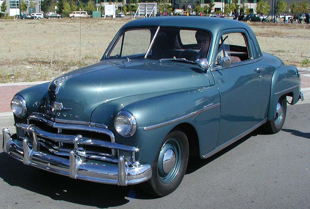 1952 Plymouth Business coupe | Concord ■ 2 Door Business