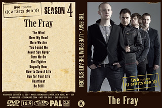 The Fray - Live From The Artists Den | by kigonjiro