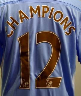 Manchester City Premier League Champions Special Edition Shirt | by umbrofootball