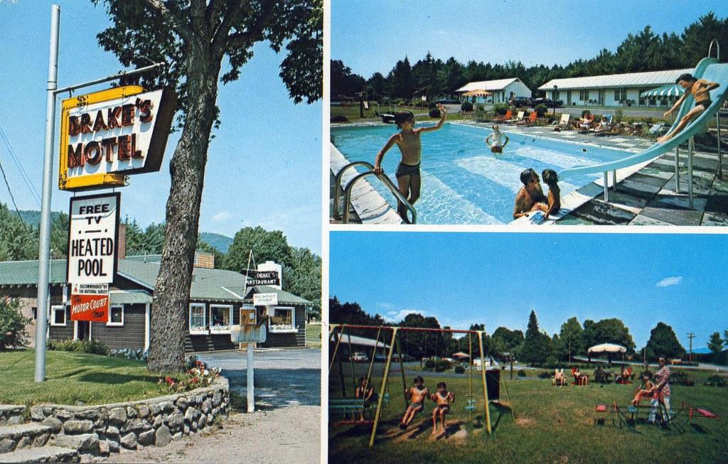 Drakes Motel Schroon Lake Ny