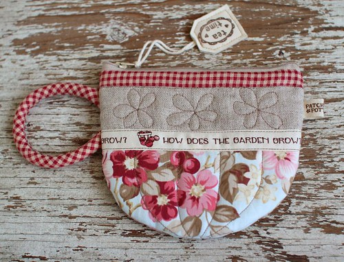 Teacup Pouch | by PatchworkPottery