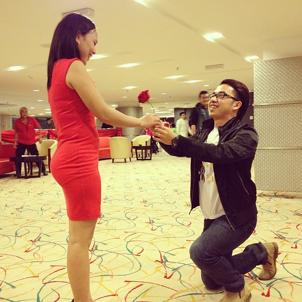 #married #couple Still Strongly In #love. #propose #propos