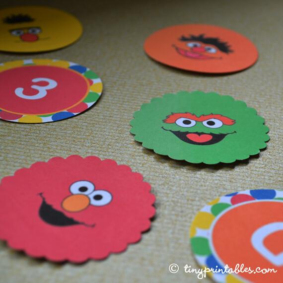 Sesame Street Birthday Party Decoration Ideas