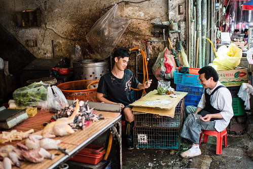 Playing Cards at the Meat Market | by macabrephotographer