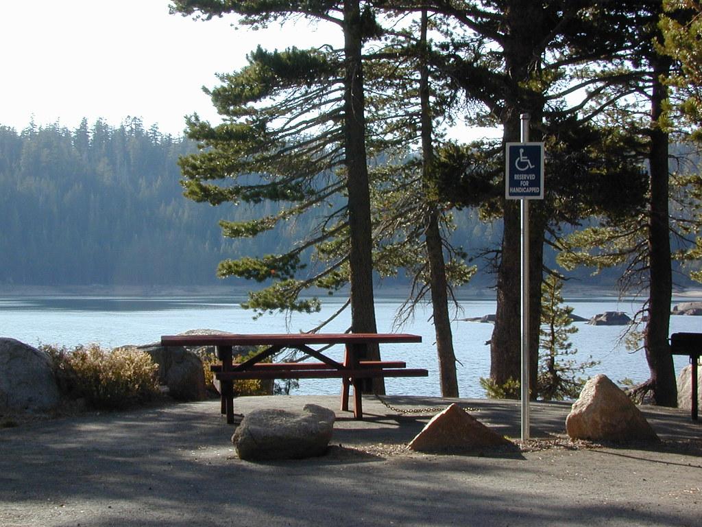 Handicap Lake Camping Across California Many Parks And