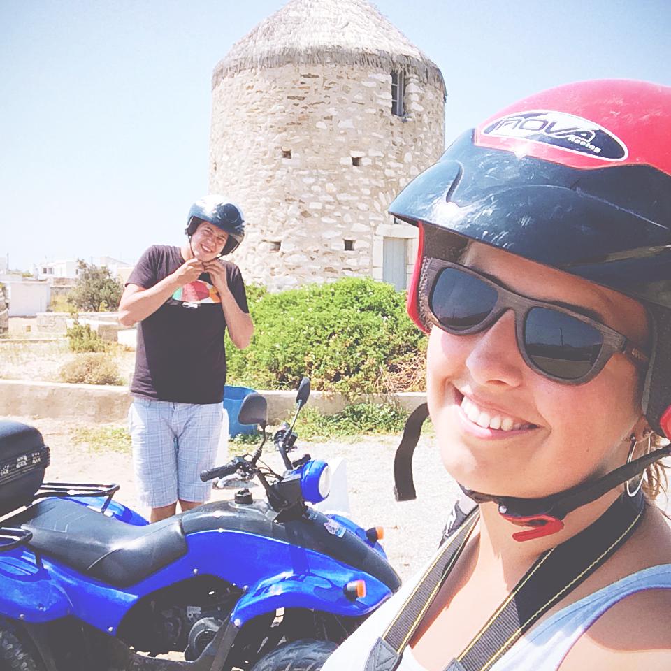 Exploring the hinterland of Naxos, Greece, per quad   via It's Travel O'Clock
