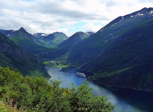 Fiordo Geiranger (Noruega)