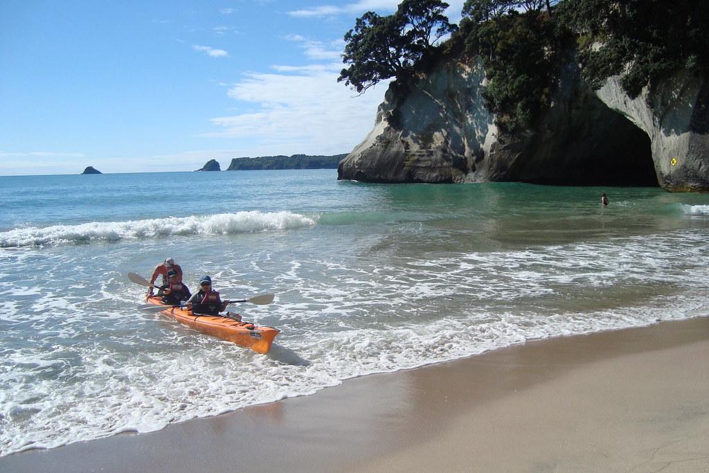 Kayak New Zealand North Island