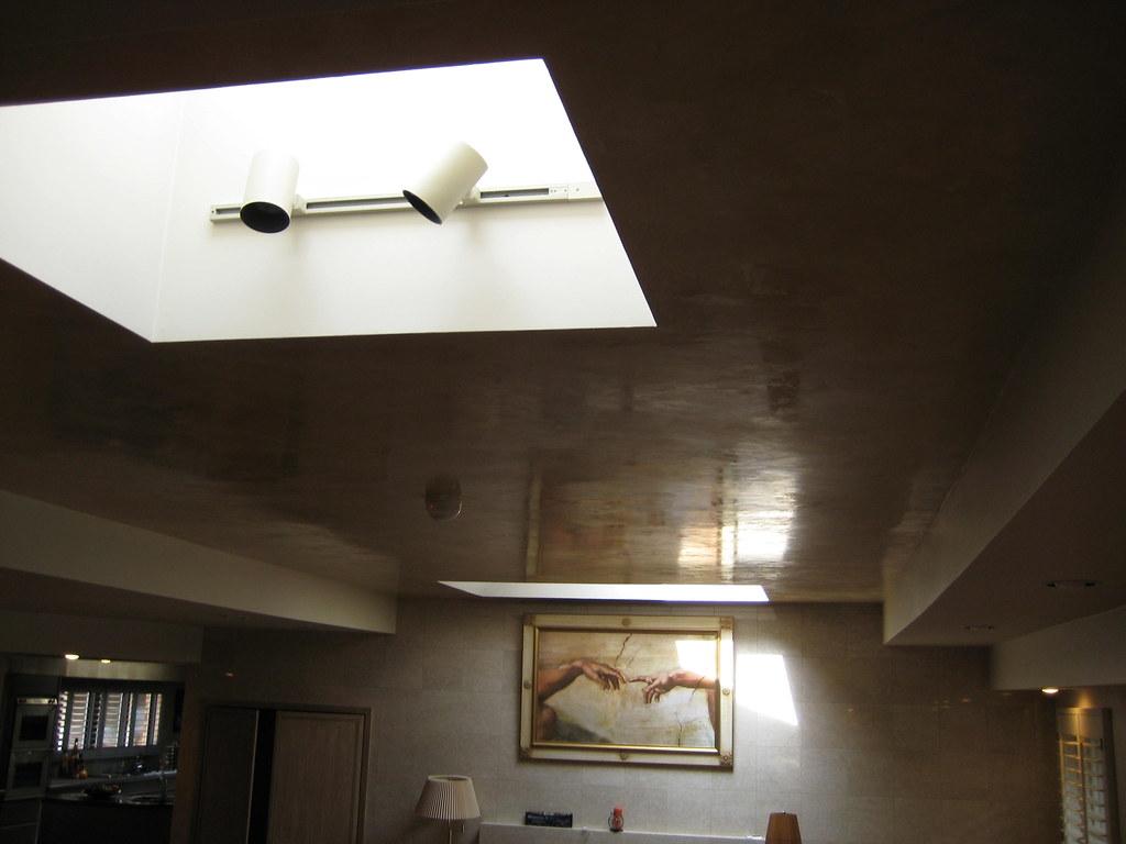Ceiling - Living Room - Italian Venetian Plaster - Bella F ...