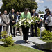 Helen Clark pays homage to 102 UN staff members who passed away due to the earthquake