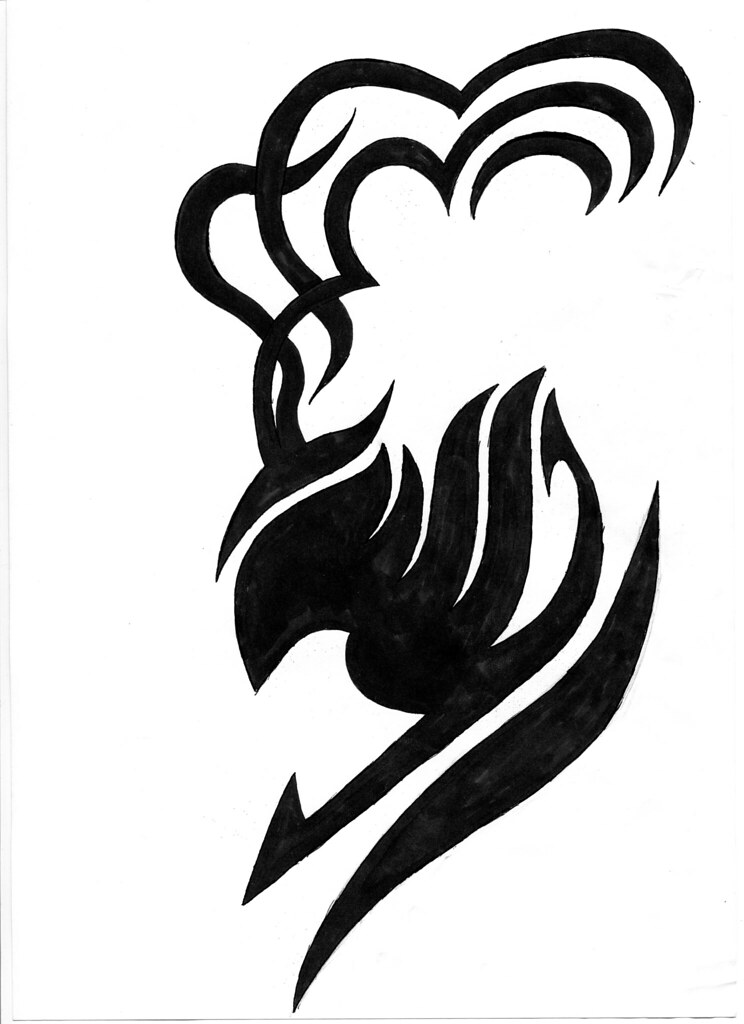 Fairy Tail Laxus Tattoo | This is a tattoo that is on ...